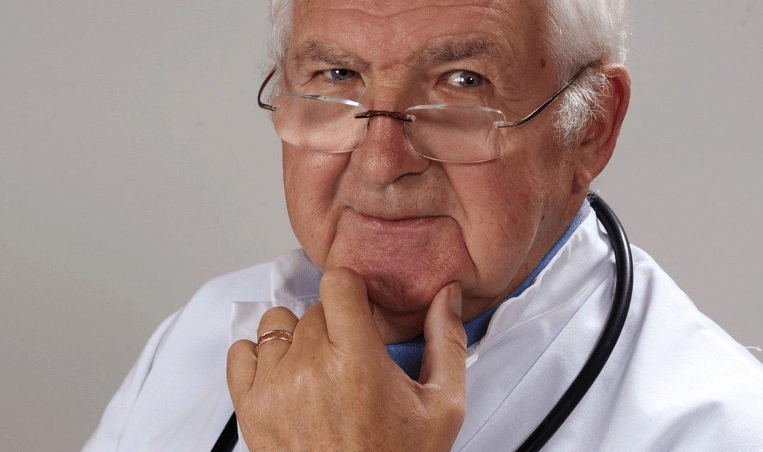 Quel âge a votre médecin ? (ce peut être une question de vie ou de mort)
